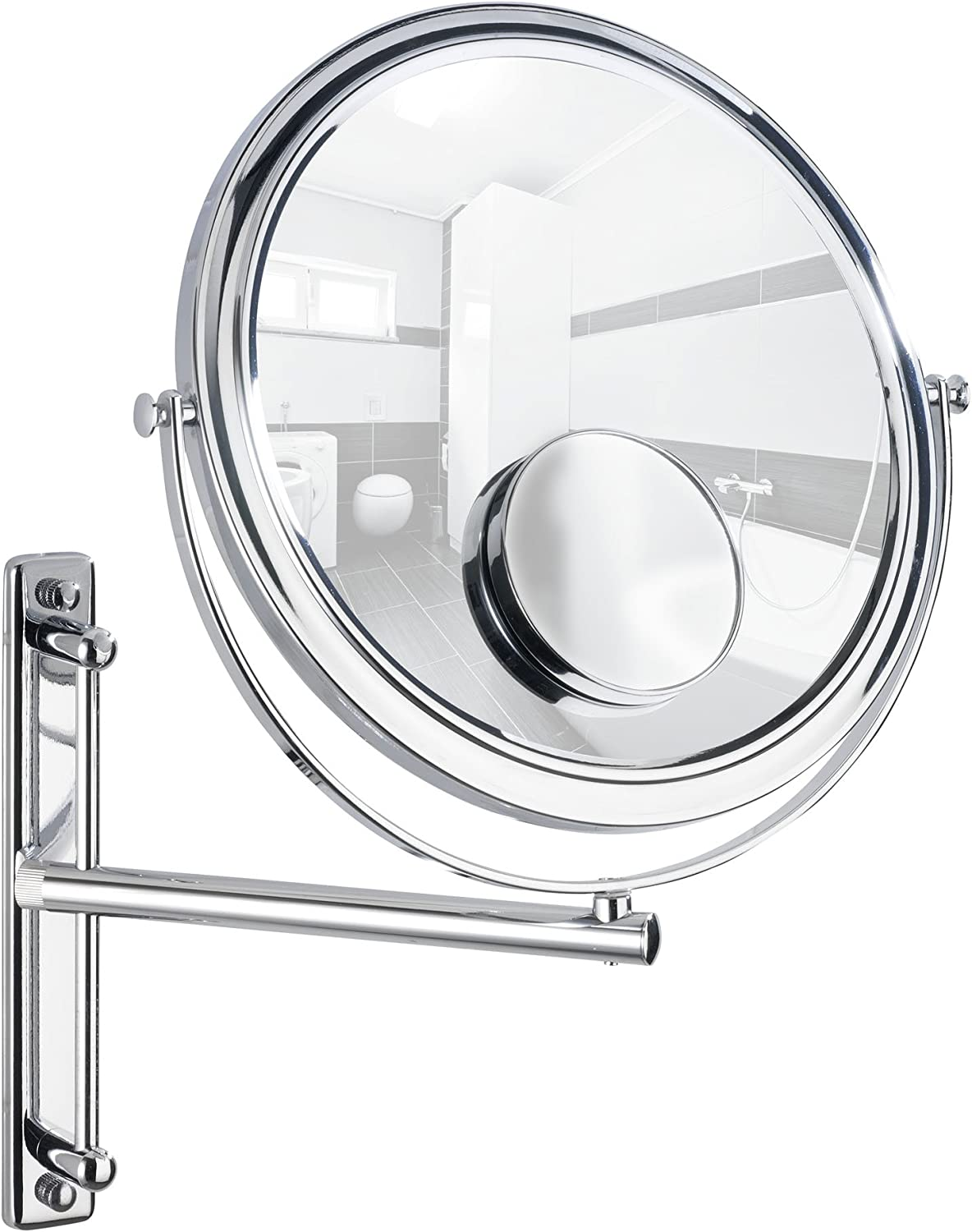 WENKO 3656370100 Wall-mounted Clearance SALE! Limited time! Alternative dealer cosmectic mirror Bivona - swi with