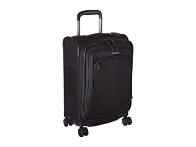 Samsonite Lineate Expandable C/O Spinner (Obsidian Black) Luggage