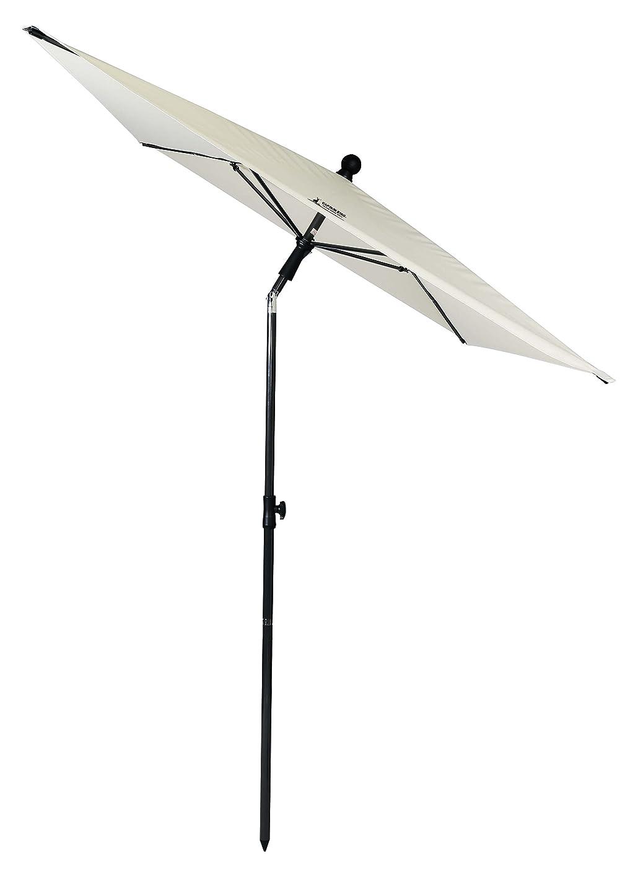 庭園世論調査ジャケットキャプテンスタッグ(CAPTAIN STAG) パラソル ガーデン UVカット 長方形パラソル 210cm ホワイト UD-59