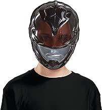2017 Black Ranger Vacuform Child Mask