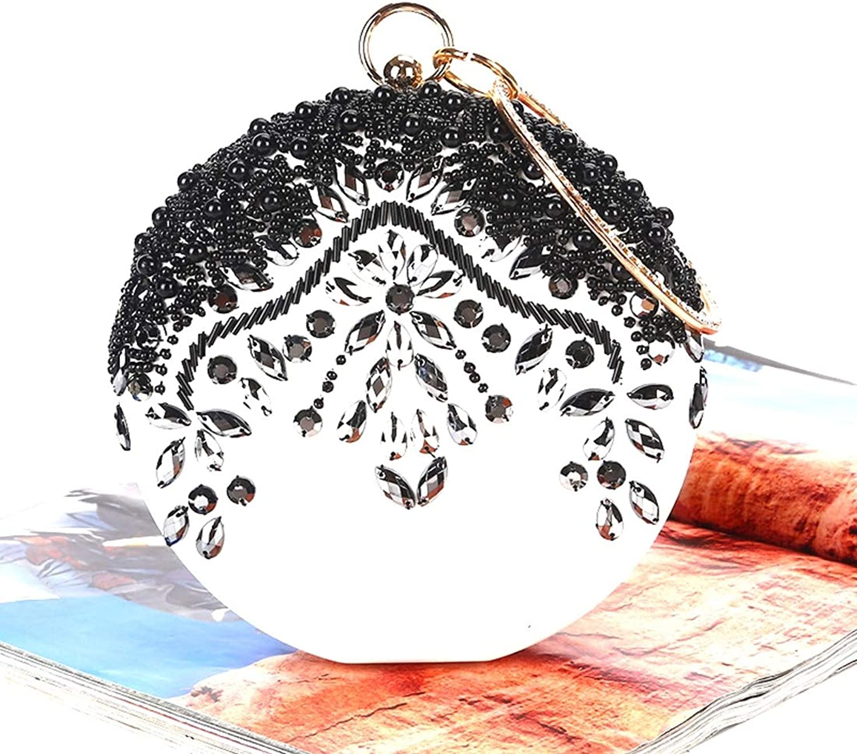 Karidesh Damen-Stickerei-Kristallrhinestones-Kreis-Abend-Beutel-Hochzeitsfest-Geldbeutel B07QG6H9KL B07QG6H9KL B07QG6H9KL  Überlegene Materialauswahl 9ead6e