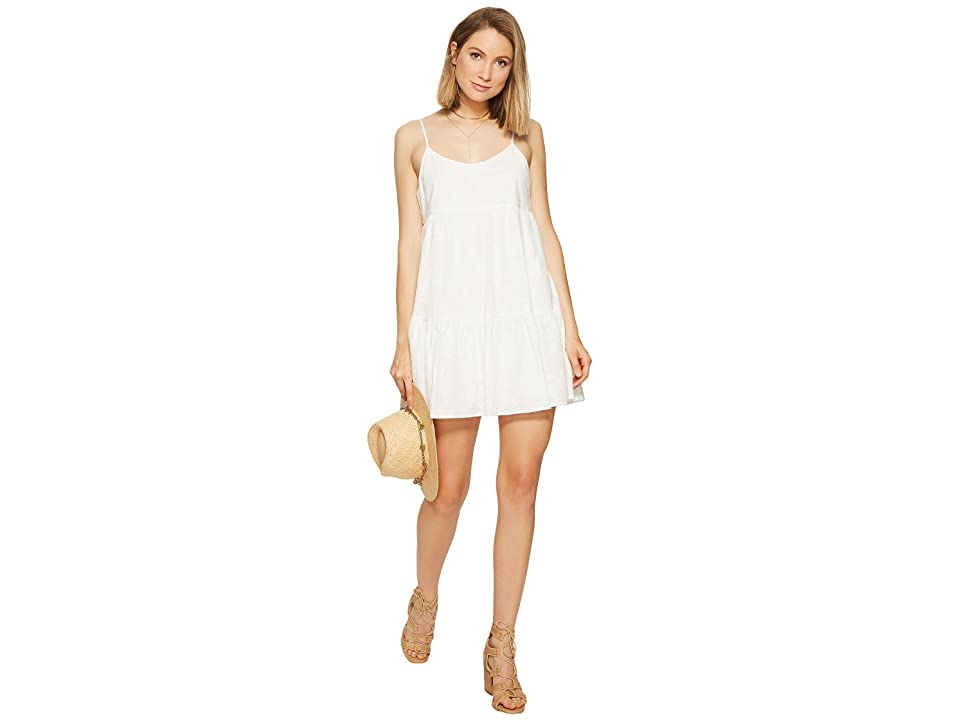 BB Dakota Kendra Embroidered Dress (Ivory) Women