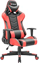 Devoko Ergonomic Gaming Chair Racing Style Adjustable Height High-Back PC Computer Chair with Headrest and Lumbar Support ...