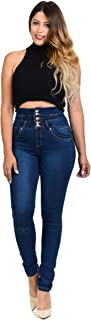 Colombian Design Butt Lift Levanta Cola High Waist Skinny Jeans (ML1)