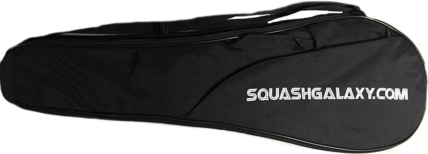 Sale Deluxe Full Size Squash w Pocket free shipping Cover Racquet