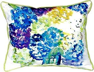 """Betsy Drake SN022 Betsy's Hydrangea Pillow,11"""" X14"""""""