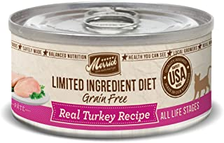 Merrick Limited Ingredient Diet Can Cat Food, 5 Oz Case Of 24