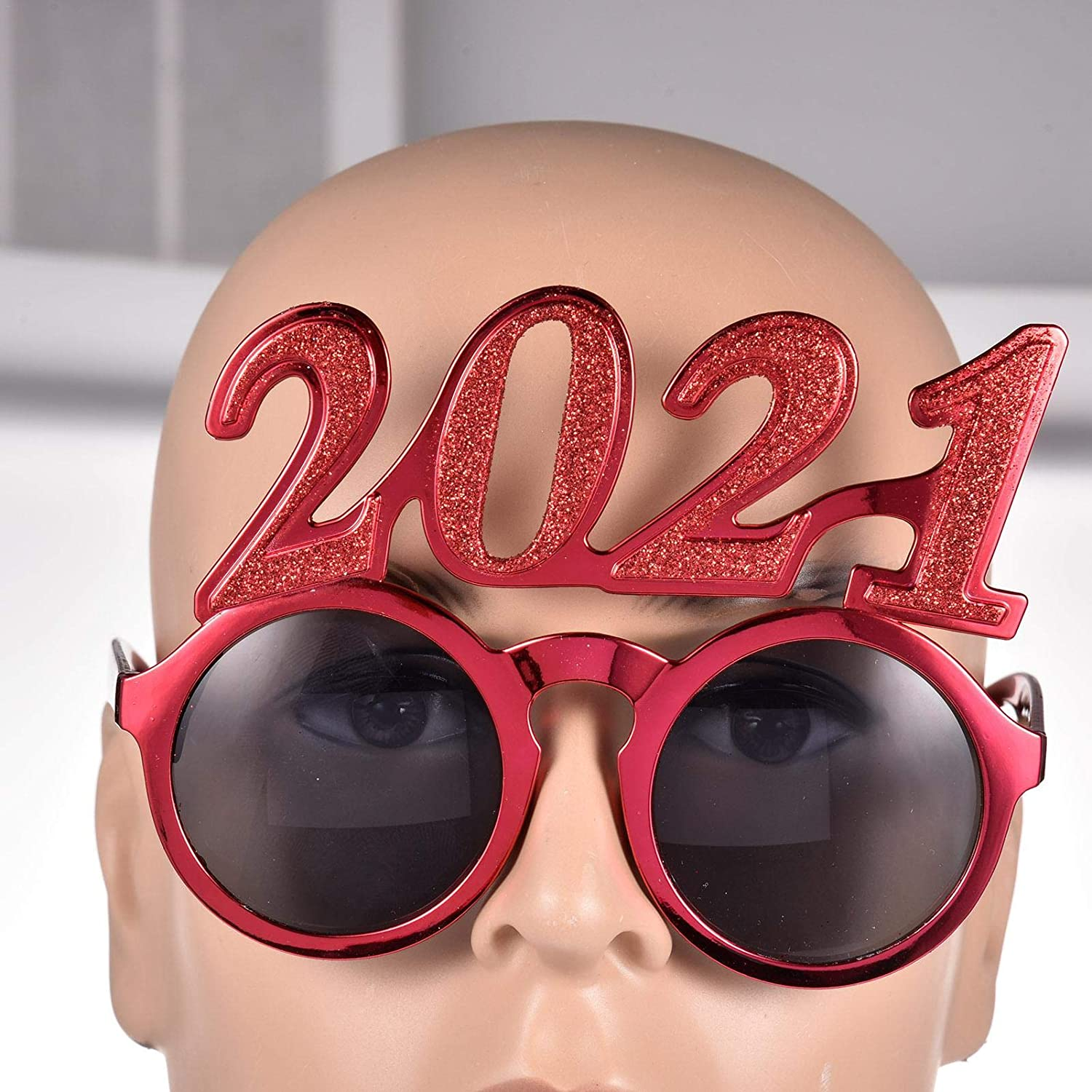 Novelty New Year Party Glasses Photo Props Celebrations Kids Adult Party