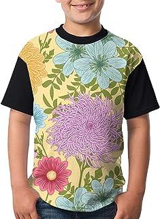 Youth Tee T Shirt For Teenager Geometrical Seamless Chaotic Boy Tshirts