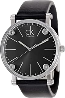 Calvin Klein Casual Watch For Men Analog Leather - K3B2T1C1