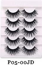 Faux Mink Hair Soft False Eyelashes Fluffy Wispy Thick Lashes Handmade Soft Eye Makeup Extension Tools,02