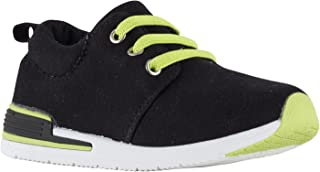 Oomphies Sunny Boys Black Athletic Shoe