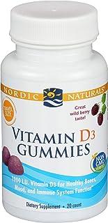 Nordic Naturals, Vitamin D3 Gummies Travel Size, 20 Count