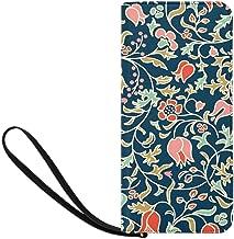 folk flowers purse