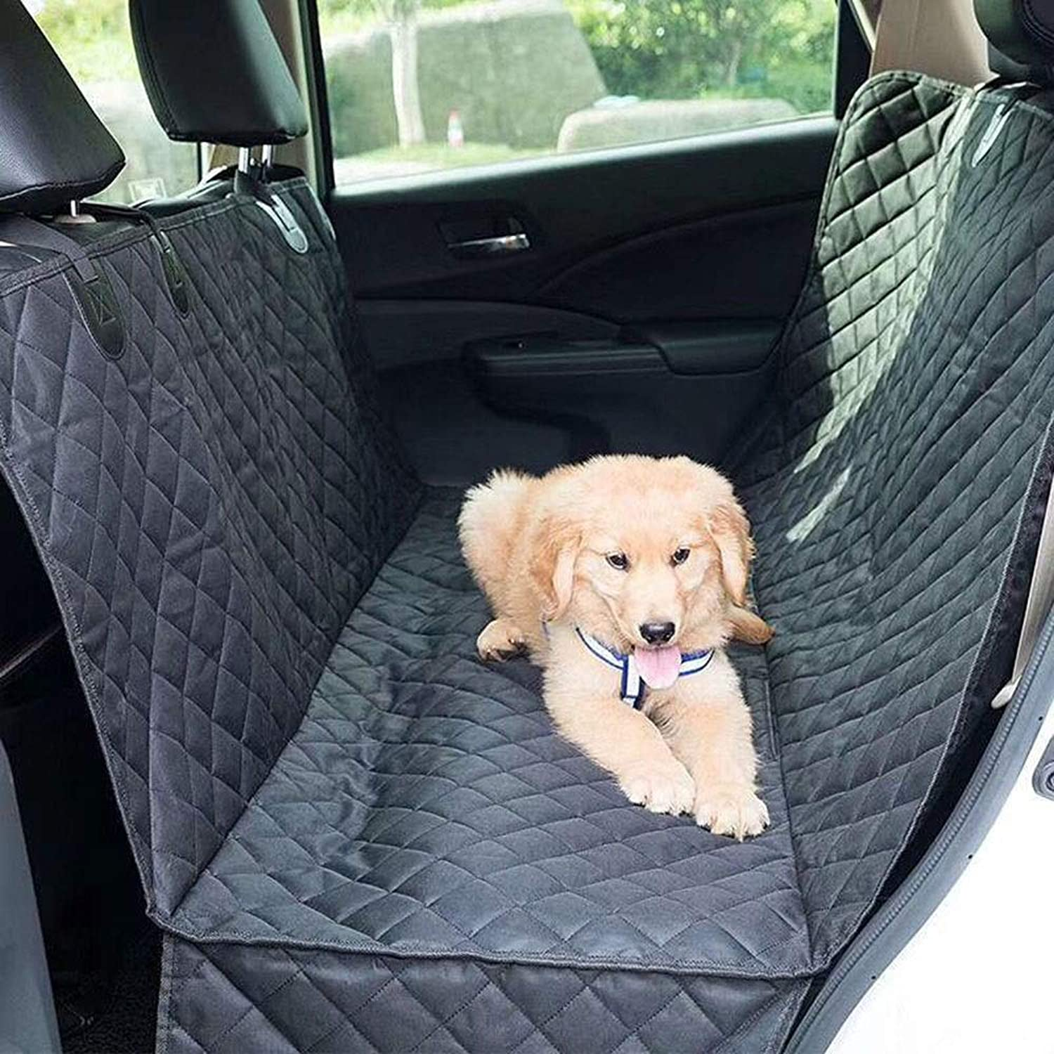 FUBULECY Dog Car Rear Seat Cushion Antigrab Car Car Pet Car Mat (color, Size   147CM137CM)