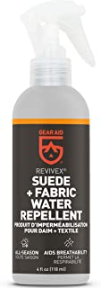 GEAR AID Revivex Suede Protector and Fabric Water Repellent for Shoes and Boots, 4 fl oz