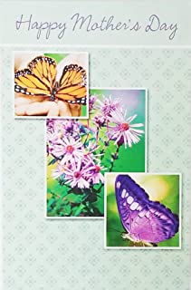 Happy Mother's Day Greeting Card with Butterflies - Celebrating You