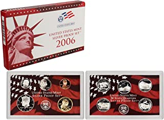 2006 S US Mint Silver Proof Set OGP