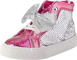 JoJo Siwa Toddler Girls' Sequins High Top Sneakers