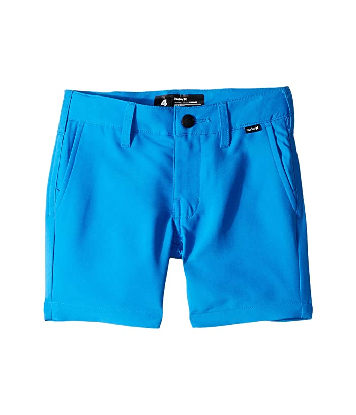 Hurley Kids  Dri-FITtm Chino Walkshorts (Little Kids) (Fountain Blue) Boys Shorts
