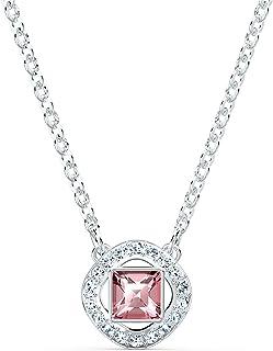 Swarovski Collier Swarovski Angelic Square, rose, métal rhodié