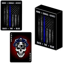 Police Professional Quality Playing Cards – Custom Police Officer Gift