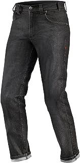 Preisvergleich für Shima GRAVEL RAW BLACK, Kevlar Herren Motorradhose Jeans Sas-Tec Mit Protektoren Sommer (32-38L, Schwarz) preisvergleich