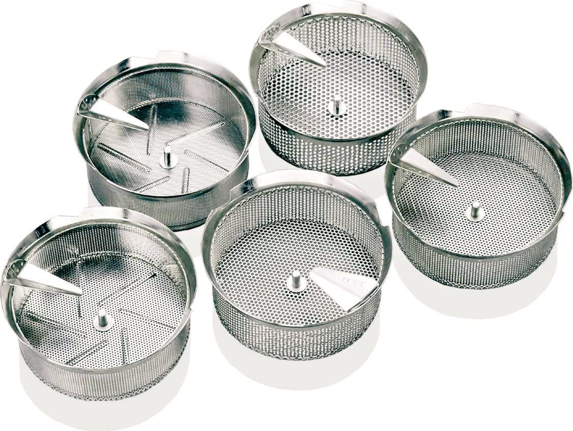 Paderno World Cuisine Sieve for Dealing full price reduction Food Limited price Stainless Mil Steel 8-Quart