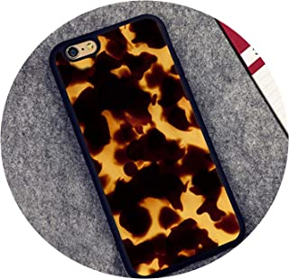 Tortoise Shell Marble Pattern Rubber Phone Case for iPhone 6 6S 7 8 Plus 5 5S SE X XR XS MAX Coque Funda Cover Shell,3360,for iPhone 7 Plus