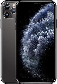 ابل ايفون 11 برو ماكس مع فيس تايم بشريحتي اتصال - 64 جيجا، 4 جيجا رام، الجيل الرابع ال تي اي، رمادي