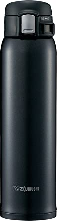 Zojirushi SM-SD60BC Stainless Steel Mug, 20-Ounce, Silky Black