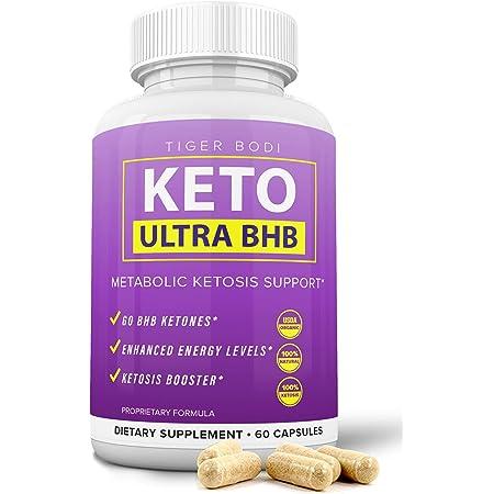 Keto BHB Real Capsules, Keto 800 BHB Pills for Real Energy, Focus, Boost - Premium Advanced Powder Exogenous Ketones for Rapid Ketosis Diet for Men Women