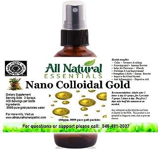 Sponsored Ad - Colloidal Liquid Gold Mineral Supplement True Pure Nano Colloidal Liquid Gold Mineral 2oz Bottle 240ppm Kos...