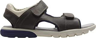 Sandals 26131679 Rocco Wave Brown Leath