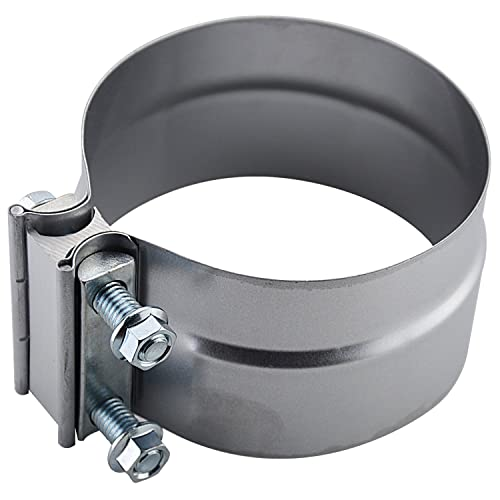 "Roadformer 5"" Lap Joint Exhaust Band Clamp - Preformed Aluminized Steel"