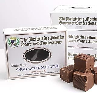 Brigittine Monks Extra Dark Chocolate Fudge Royale, 1 lb. box