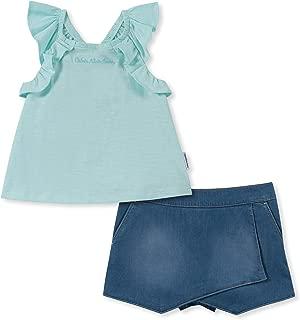 Calvin Klein - Conjunto de Pantalones Cortos para niña (2 Piezas)