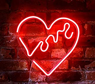 Best neon heart wall light Reviews