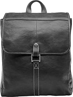 Hidesign Beaumont Backpack Bag for Men - Genuine Leather, Black