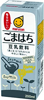 マルサン 豆乳飲料 ごまはち 200ml×24本