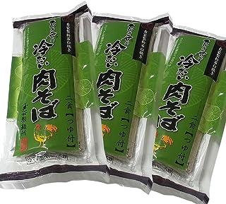 【6食分】たまやの冷たい肉そば(2食分×3袋)(つゆ付)[冷たい肉そば×3]