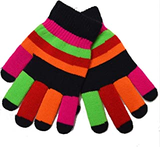 GRAPPLE DEALS Winter Wear Knitted Warmer Kids Hand Gloves Ages B/W 6 To 12 Years.(Random Color)