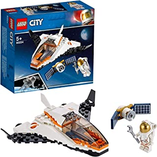 LEGO City Satellite Service Mission 60224 Building Kit, Space Toy for 5+ Year Old Boys and Girls, 2019
