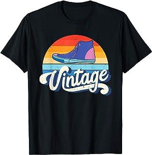 Vintage Sneakers Shirt Retro 80s Gift For Boys Girls Kids T-Shirt