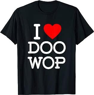 Doo Wop 1950s Sock Hop Clothing 50s 60s Rockabilly Tshirt