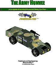 Pinewood Derby Car Design - Army Humvee (Pinewood Derby Car Design Plans Book 1)