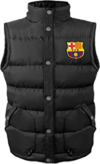 FC Barcelona Official Soccer Gift Boys Padded Body Warmer Gilet