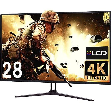 4Kモニター 28インチディスプレイ HDR対応/ゲームモード/ブルーライト軽減/FPS オリジナルブルーライトカットメガネ付き