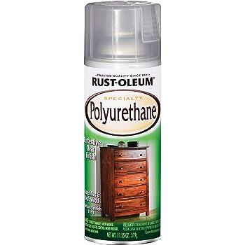 Rust-Oleum 7870830 Polyurethane Spray, 11 oz, Gloss