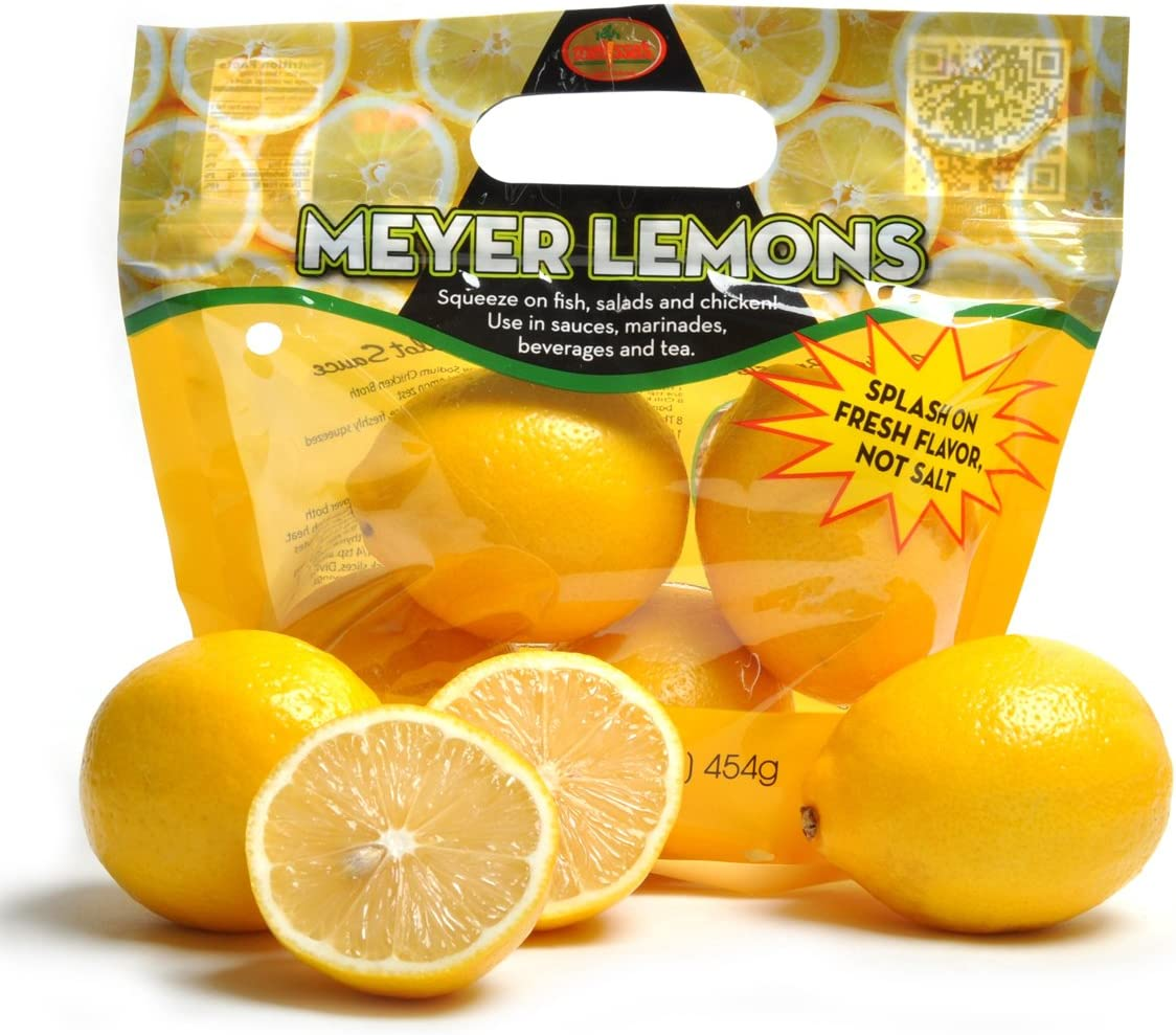 Amazon Com Melissa S Meyer Lemons 5lbs Grocery Gourmet Food